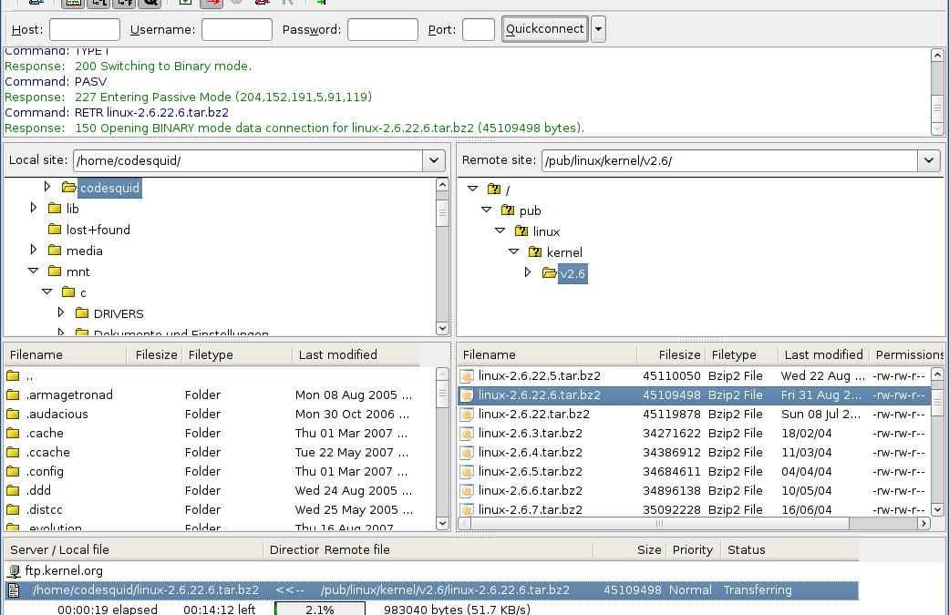 FileZilla: il miglior client FTP gratuito