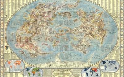 Mappa dei siti web più visitati