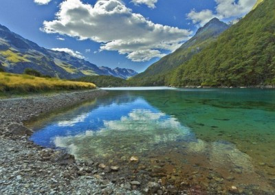 Blu Lake - Isola del sud, Nuova Zelanda