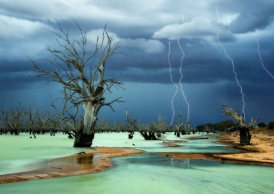 Lake Menindee - New South Wales, Australia